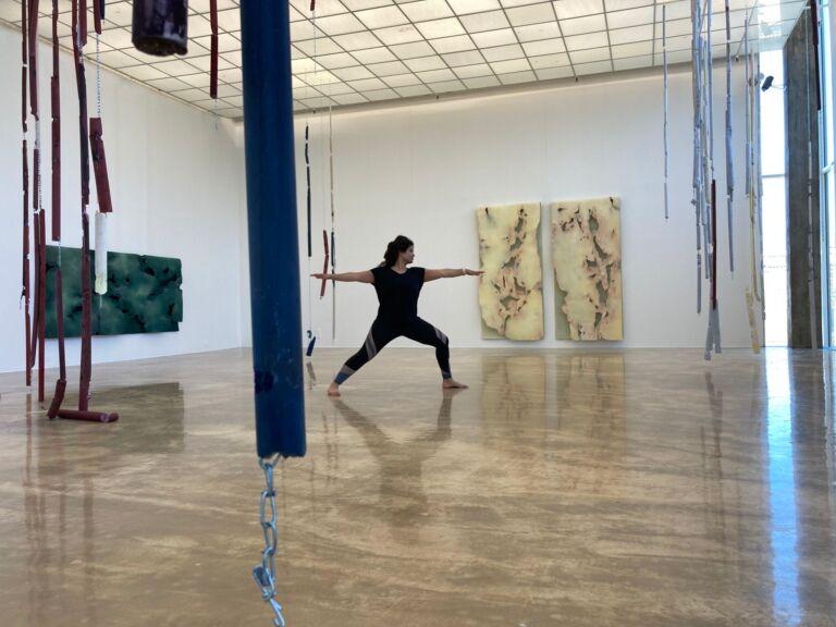 Yoga i kunsthallen